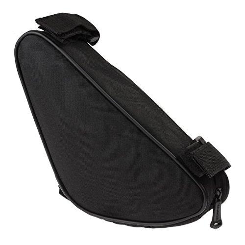 EIMGO Bicycle Strap-On Bike Saddle Bag Seat Bag Cycling Bag (Front Triangle Frame Bag)