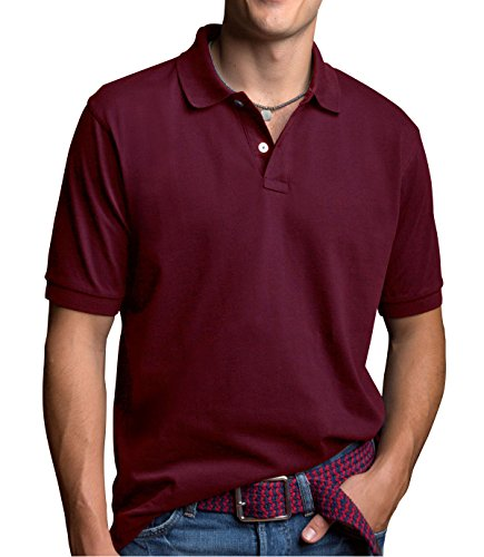 Vantage Men's Perfect Polo, Deep Maroon, 4XL