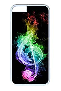 iPhone 6 Case, Personalized Unique Design Covers for iPhone 6 PC White Case - Fire Dou
