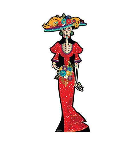 Advanced Graphics Day of The Dead Woman Life Size Cardboard Cutout Standup