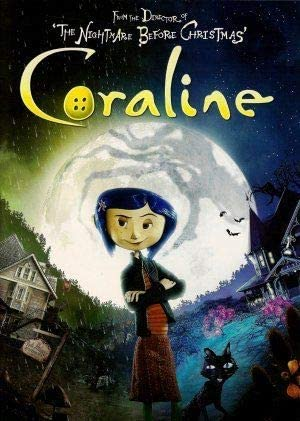 Import Posters Coraline Tim Burton Us Movie Wall Poster Print 30cm X 43cm 12 Inches X 17 Inches Amazon Co Uk Kitchen Home