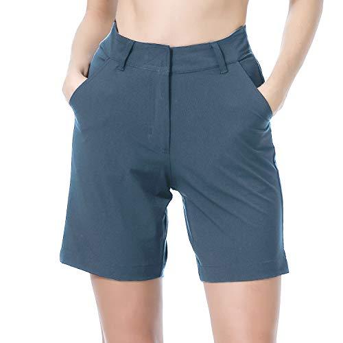 beroy Women Mountain Cycling Shorts,Bike Shorts Require Your Own Casual Pairing of Cycling Underwear(L Blue)