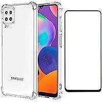 Kit Capa Anti Impactos Compatível com Samsung Galaxy A22 4g e Película de Vidro 3D
