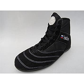 Isba Fighter Francaise Savate Noires Chaussures Boxe 0ONwXPk8n