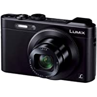 Panasonic Digital Camera Lumix LF1 Optical x7.1 zoom Black DMC-LF1-K (Japan Model) - International Version (No Warranty)