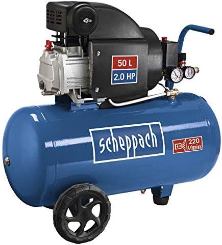 Scheppach Compressor 50 Litres 10 Bar 3 Hp 1 Piece Baumarkt