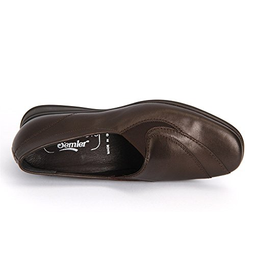 Sale femme Taille semler marron En chaussures Marron Mocassins Grande Matelas FTqCag