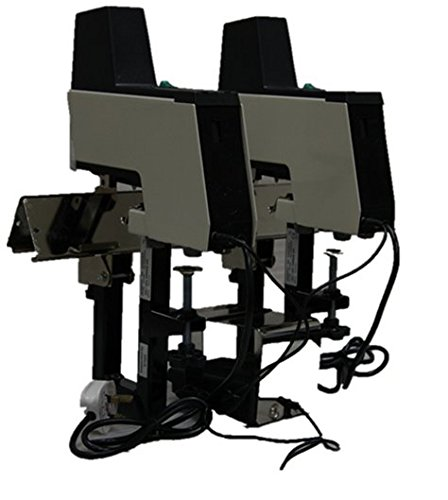 Dual head Electric Saddle Stapler Head Stapler Machine