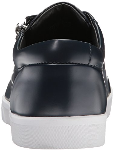 Sneaker Dark Fashion Men's Leather Calvin Box Ibrahim Navy Klein xzq0UzwYX6