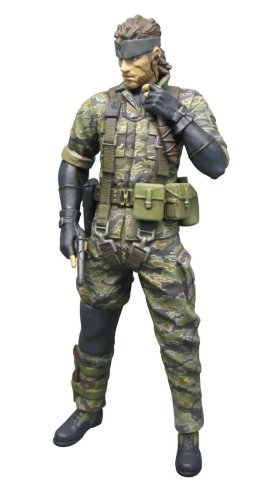 - Metal Gear Solid 3: Snake Tiger Camo Version Action Figure