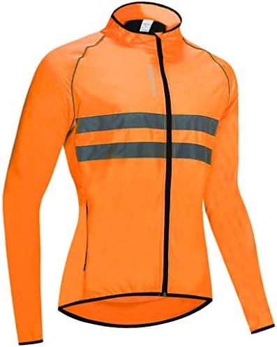 長袖 自転車ジャケット シャツ トップスコート反射 ユニセックス 全5サイズ