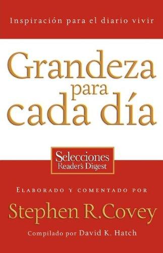 Download Grandeza para cada día: Inspiración para el diario vivir (Spanish Edition) pdf