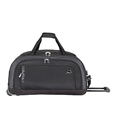001b366dd01 Kamiliant Polyester 59 cms Black Travel Duffle (83W (0) 09 004)  Amazon.in   Bags, Wallets   Luggage