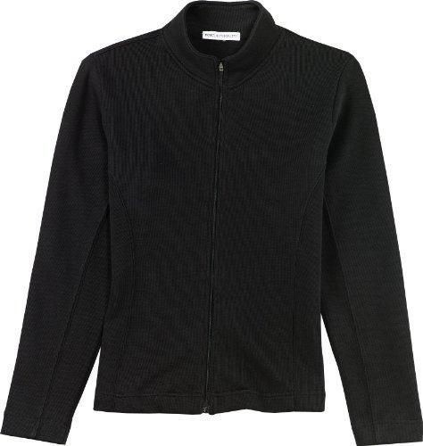 ; Port Authority; Ladies Flatback Rib Full Zip Jacket. L221-simple