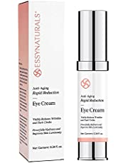 EssyNaturals Anti-Aging Rapid Reduction Eye Cream - Visibly and Instantly Reduces Wrinkles, Under-Eye Bags, Dark Circles in 120 Seconds