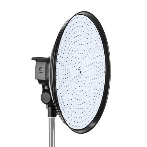 CLAR CL-1144R Pro DiskLight Bi-Color SMD Flood LED Circular Light (14.6'') by CLAR