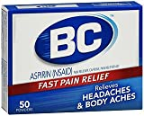 BC Headaches Formula Pain Reliever Powders - 50 ct, Pack of 4
