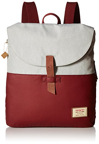 hedgren-banyan-backpack-rhubarb-off-white