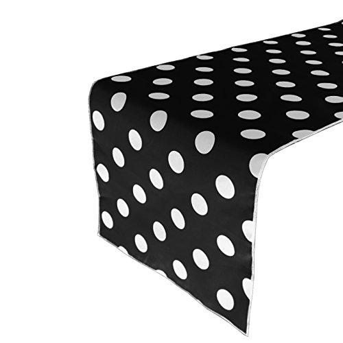 Zen Creative Designs Premium Cotton Table Top Runner Polka Dots/Spots (12