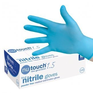 Size Medium - 400 Nutouch Best Price Disposable Powder-Free, Nitrile Medical Gloves. AQL 1.5. Nutouch the market leading manufacturer, whose gloves are used by many healthcare professionals, are now on Special Offer - 4 Boxes of 100 Medical Grade Gloves.