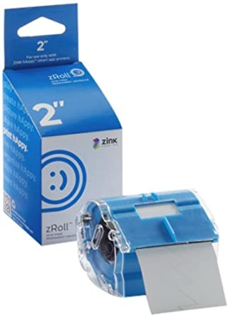 ZINK 2 inch zRoll - A 2 inch wide roll of full color, ink-free ZINK Paper. 11110122