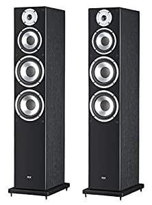 Elac FS 58.2 - Altavoces (25 mm, 145 mm, 175 mm, 100 W, 140 W, 38 - 25000 Hz) Negro, Cereza