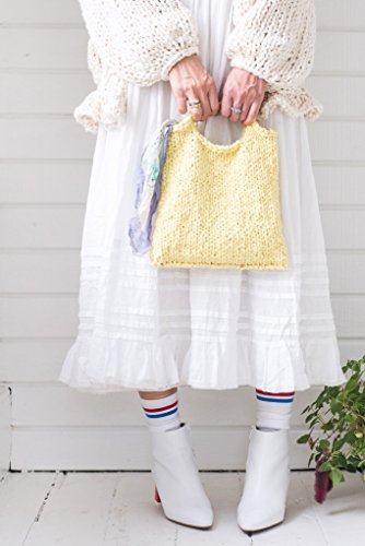 Loopy Mango DIY Knit Kit - Cotton Mini Market Bag (APRICOT) by Loopy Mango (Image #4)