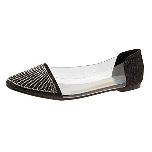 London Femme Noir Ballet Footwear London Footwear 0n4r8w0qO