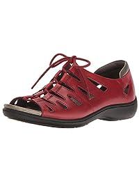 Aravon Women's Bromly Ghillie Flat Sandal