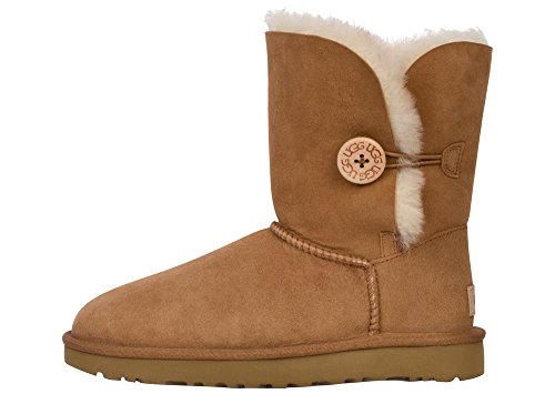 UGG Women's Bailey Button II Winter Boot, Chestnut, 10 B US (Best Way To Lose Weight In A Month Naturally)