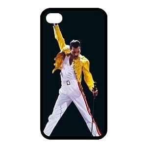 Custom Freddie Mercury Back case for iphone4,4S JN4S-327