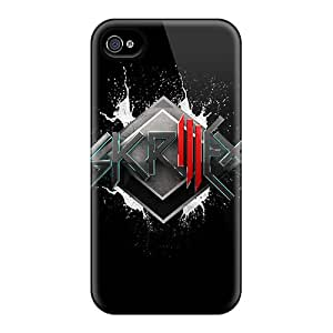 AlainTanielian Iphone 4/4s Scratch Protection Mobile Cover Support Personal Customs Attractive Skrillex Image [pcz4389pOiQ]