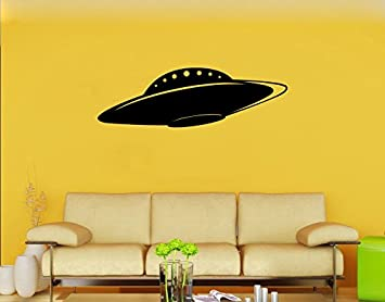 Space Alien #9 Vinyl Wall Decal Scifi UFO Roswell Saucer Conspiracy