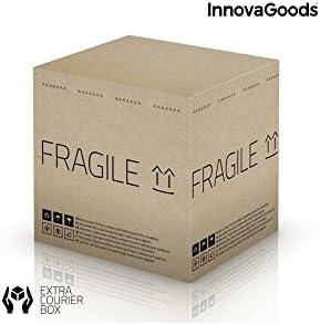 InnovaGoods Ball Refrigerant Beer Dispenser, PMMA, Silver, 24 x 24 x 42 cm