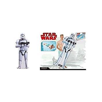 lively moments Star Wars Colchón de aire / Colchón FLOTADOR/tabla de surf / surfrider Stormtrooper aprox. 173 x 67 x 18cm: Amazon.es: Juguetes y juegos