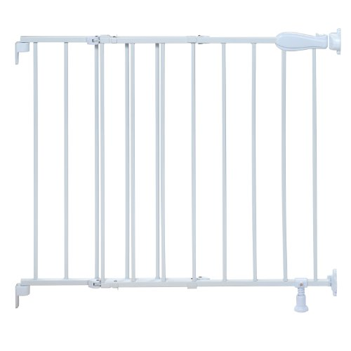 Summer Infant Top of Stairs Simple to Secure Metal Gate, Whi