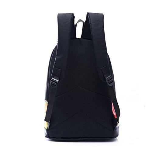 école voyage Keshi etc randonnée sac hiking nouveau d'épaule Cartoon à 2015 dos pour sac Toile camping qqUfgA
