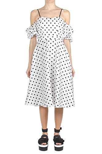 Space Style Concept Kleid Damen P18SMAB017 01 TR Farbe Weiß Bianco pZhxBzUXn