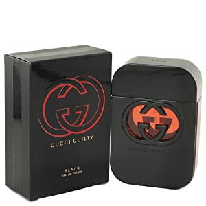 G.u.c.c.i. Guilty Black EDT Perfume for Women New In Box 2.5 OZ / 75 ml by X-14