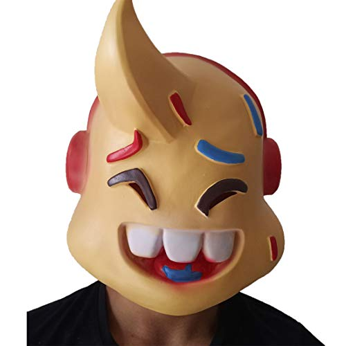 (FN Game Legend Role Lil Whip Funny Pretend Deluxe Latex Mask)