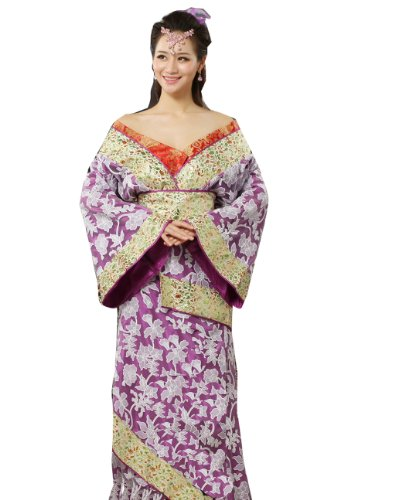 Bysun Ancient Women's Pacific Princess cosplay PurpleFS