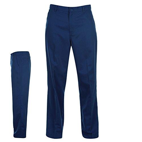Dunlop Herren Golfhose Gerades Bein Outdoor Golf Hose Freizeithose Neu Blau 42W 31R