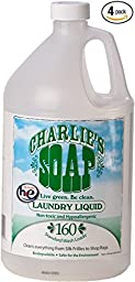 Charlie\'s Soap Laundry Liquid - 4 Gal Case Pack (Includes Four 1 Gal Jugs)