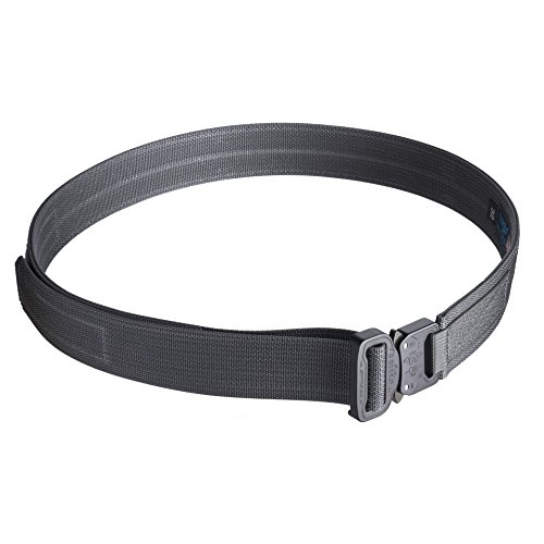 Gray Hybrid (Blue Alpha Gear 1.5 Hybrid Cobra EDC Belt (Wolf Gray, 32 (Pant Size)))