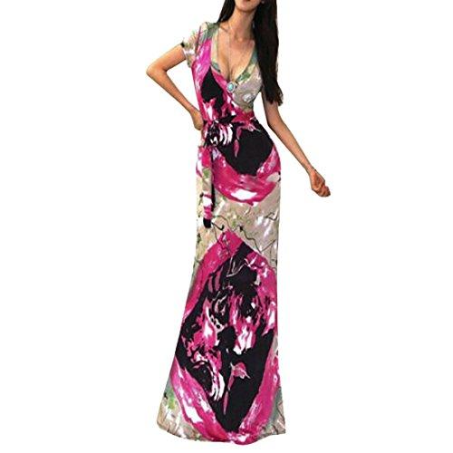 HITRAS Dress Clearance! Sexy Women Printing Casual Boho