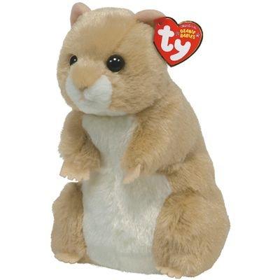 Amazon.com  TY Beanie Baby - PECAN the Hamster  Toys   Games 03457213b55