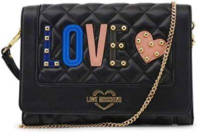 Love Moschino Love Clutch Damen Handtasche Schwarz
