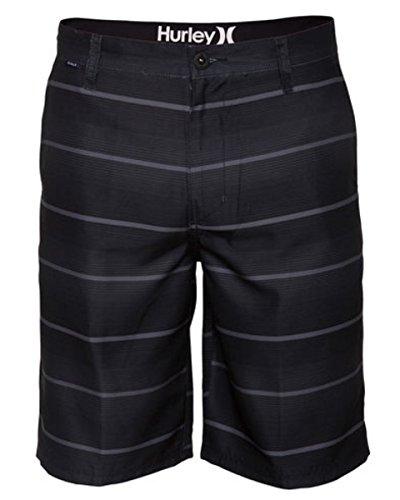 Hurley Black Belt (Hurley Men's Mariner Latitude Walkshort Boardwalk, Black,)