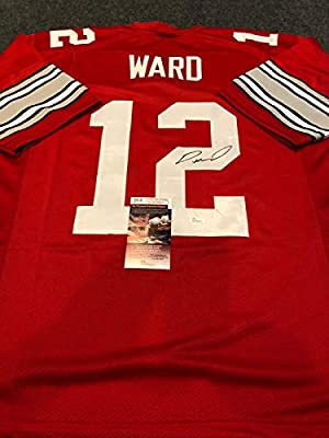 huge selection of 14419 cc610 OHIO STATE BUCKEYES DENZEL WARD AUTOGRAPHED SIGNED JERSEY ...