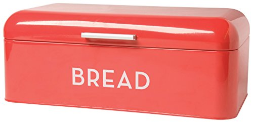 Now Designs Bread Bin Red